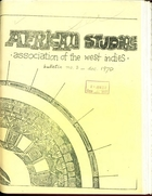 African Studies Association of the West Indies, Bulletin no. 3, December 1970