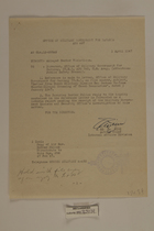 Alleged Border Violations, April 3, 1947