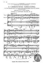 A Christmas Greeting, Op. 52