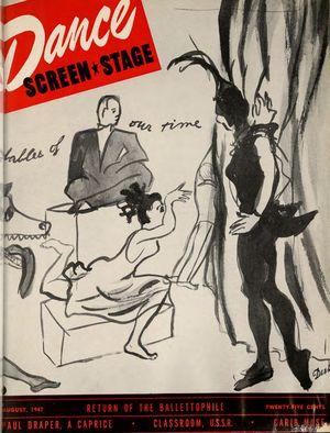 Dance Magazine, Vol. 21, no. 8, August, 1947