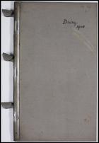 Diary, 1908