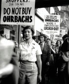How Did the League of Women Shoppers Use Their Privilege to Act in Solidarity with Workers, 1935-1948?