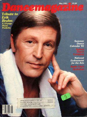 Dance Magazine, Vol. 55, no. 5, May, 1981