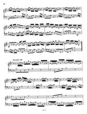 Inventio 14 in B-flat, BWV 785, B Flat Major
