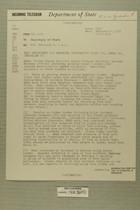 Telegram from Edward B. Lawson in Tel Aviv to Secretary of State, Feb. 4, 1955