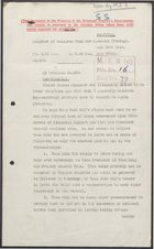 Deciphered Telegram from Sir J. Jordan to Foreign Office re: US Anxious for Yuan Shi-kai's Rule to End, May 26, 1916