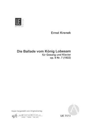 Die Ballade vom König Lobesam