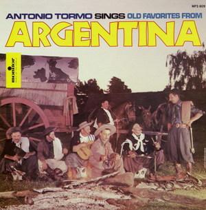 Antonio Tormo Sings Old Favorites from Argentina