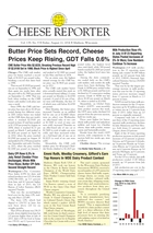 Cheese Reporter, Vol. 139, No. 9, Friday, August 22, 2014