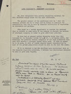 Minute Notes for Lord President's Press Conference - Typed and Handwritten - 1947