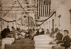 Army Hospital near Washington, D.C., 1861-65 (b/w photo)