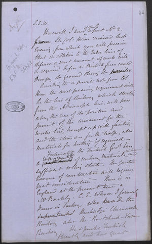 Copy of Report No. 2 from Lt. Co. Horn, December 5, 1876