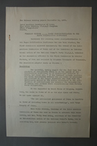 Feminist Victory....Women Plenipotentiaries to the Hague Codification Conference: Release, Inter-American Commission of Women, Geneva, 14 September 1928