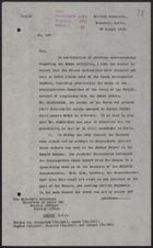 Letter from W. A. Smart to Foreign Office re: French Authorities in Damascus Arrest Nationalist Leaders on the Charge of Complicity with the Druze, August 29, 1925