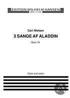 3 Sange af Aladdin, Op. 34