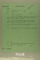 Message from USARMA Tel Aviv Isreal to Deptar Wash DC, June 21, 1957