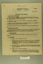 Document from Major General Edwin B. Howard re: G-2 Estimate of the Situation, May 14, 1945
