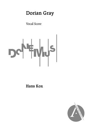Dorian Gray (Vocal Score), C Major