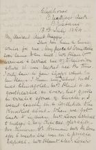 Letter from Jessie Love to Maggie Jack, July 13, 1894