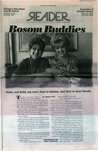 Bosom Buddies: Robin and Katie are men, they're women, and they're best friends
