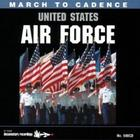 March to cadence with United States Air Force
