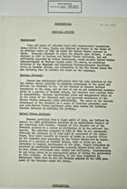 Confidential Paperwork re: Chamizal Border Dispute, May 17, 1954