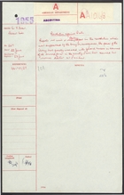 Communique from Sir F. Evans to Foreign Office re: Army's Power Substantially Increased, June 22, 1955