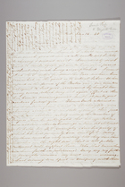 Letter from Sarah Pugh to Elizabeth Pease, March 14, 1844