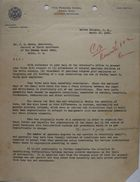 Letter from C. A. McIlvaine to J. E. Moore, March 15, 1933