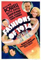 Fashions of 1934 (1934): Shooting script
