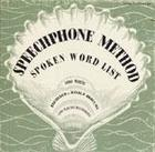 The Speechphone Method: Spoken Word List