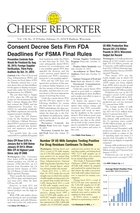 Cheese Reporter, Vol. 138, No. 35, Friday, February 21, 2014