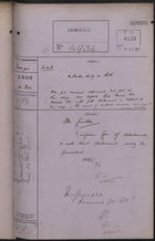 Colonial Office Correspondence Register, re: Letter from Foreign Office on U.S. Duty on Salt, February 10, 1908