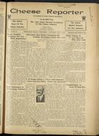 Cheese Reporter, Vol. 59, no. 14, December 8, 1934