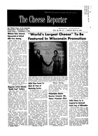 The Cheese Reporter, Vol. 86, No. 37, Friday, May 10, 1963