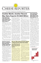 Cheese Reporter, Vol. 138, No. 2, Friday, July 5, 2013