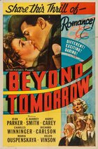Beyond Tomorrow (1940): Continuity script