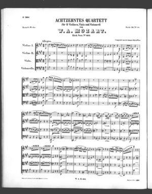Achtzehntes Quartett