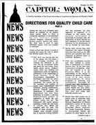 Capitol: Woman, vol. 1 no. 6, Oct. 15, 1973