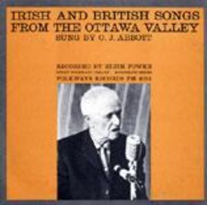 Irish and British Songs from the Ottawa Valley
