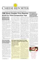 Cheese Reporter, Vol. 138, No. 26, Friday, December 20, 2013