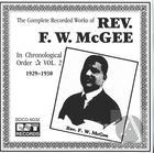 Rev. F.W. McGee Vol. 2 (1929-1930)