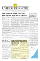 Cheese Reporter, Vol. 138, No. 31, Friday, January 24, 2014