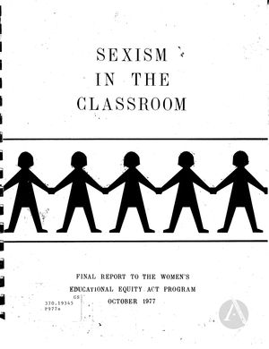 sexism in classroom