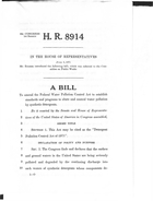 92d Congress 1st Session A Bill To Amend the Federal Water Pollution Control Act to Establish Standards and Programs to Abate and Control Water Pollution by Synthetic Detergents