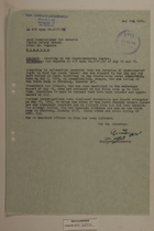 Memo from Dr. Riedl re: Shooting on the Czech-Bavarian Border, May 24, 1950