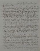 Letter from Walter Leslie to William Leslie, May 1, 1841