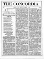 The Concordia, Vol. 1, no. 2, February, 1866