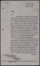 Letter from J. R. Vaughan-Russell to Foreign Office re: Dissolution of Syrian Cabinet, June 14, 1926