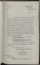 Letter from R. C. Lindsay to Robert Lansing re: U.S. & Canada Request Copies of Regulations Governing Cocaine and Opium Imports to HM Overseas Dominions, January 19, 1920